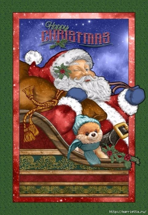 Картинки для декупажа. Новогодняя и рождественская тематика (1) (481x700, 314Kb)