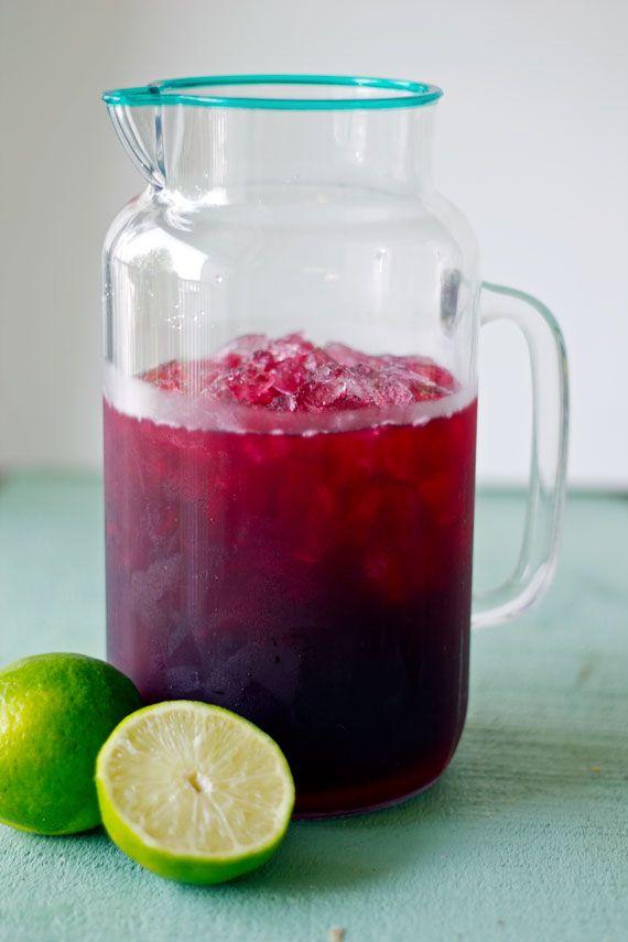 Hibiscus Tea Limeade | mrspenguin.com