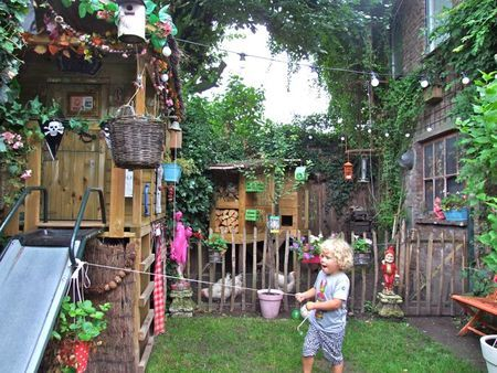 Outdoor play space
