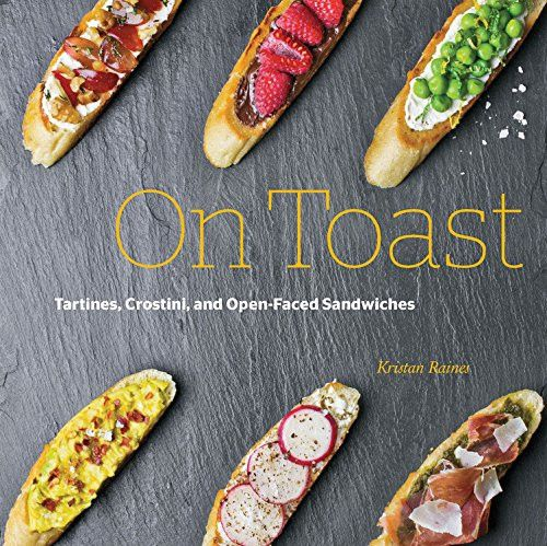 In On Toast, lush photographs accompany 100 ideas for toast. From the simplest snack to the most complex and satisfying meal. On Toast even includes straight forward instructions for how best to toast
