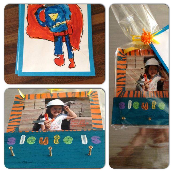 Vaderdag cadeau – superman en sleutelrekje