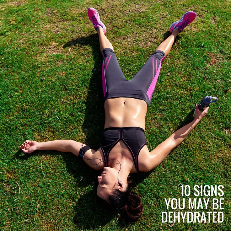 Think you might be dehydrated? We share 10 signs you could be on our blog.