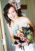 Gorgeous rustic pod bouquet