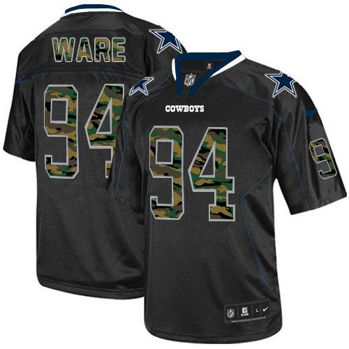 Mens Nike Dallas Cowboys #94 DeMarcus Ware Elite Black Camo Fashion NFL Jersey Save 50% OFF At Dallas Cowboys Team Store Online For Cheap.