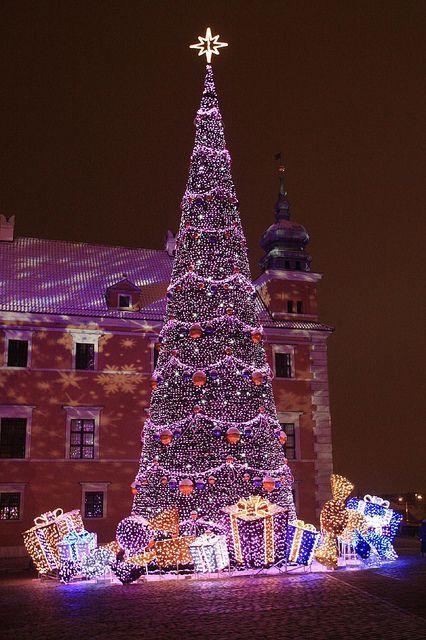 Warszawa, Mazowsze, Poland ... At Christmas time Christmas around the world