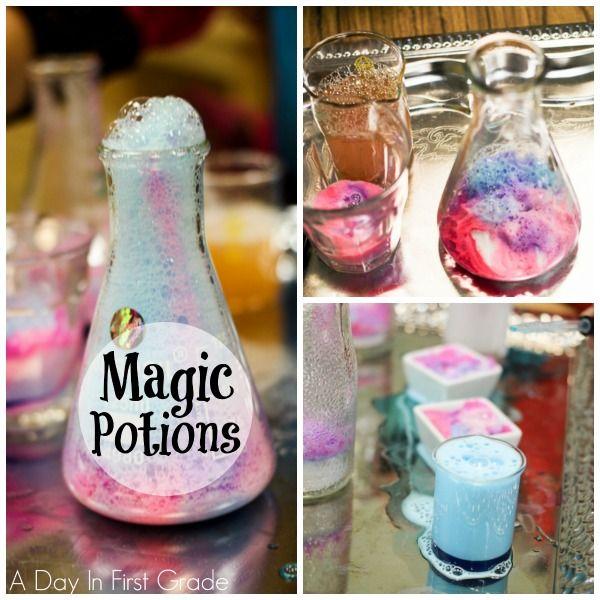 How to make magic potions