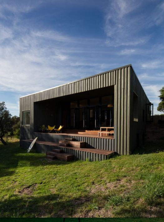 Effortless Style And Proportions For A Beach House In Venus Bay, Victoria,  Australia