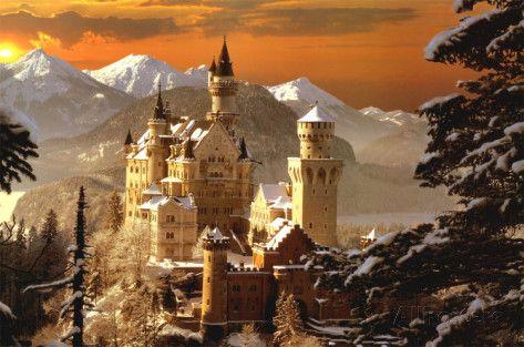 Schloss Neuschwanstein Prints - at AllPosters.com.au