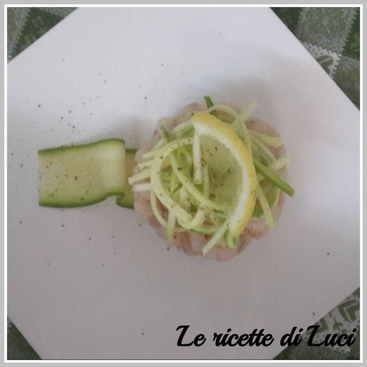 Gamberetti e zucchine all'insalata