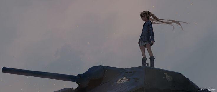 「小さな巨人」/「ヘッツァー」のイラスト [pixiv]