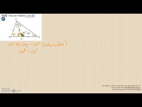 Matematik 5000 Ma 2a   Kapitel 3   Geometri   Geometri och bevis   3122