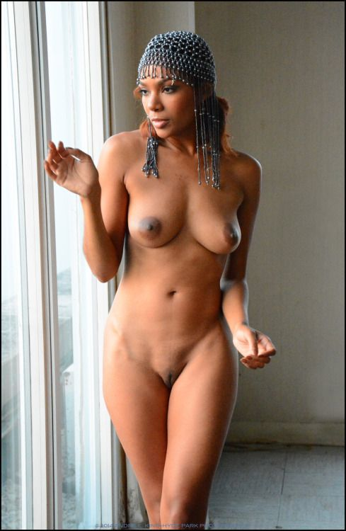 Candid naked young girl