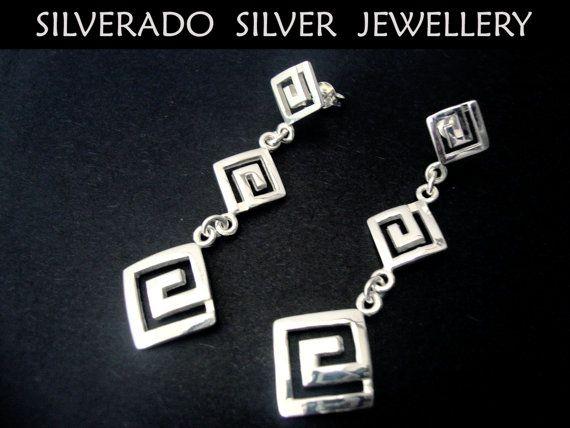 Ancient Greek Triple Eternity Key Gratuated by SilveradoJewellery, €40.00