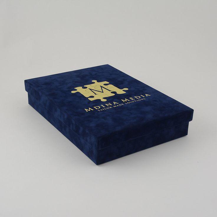 Luxe geschenkdozen met Losse doos deksel inlay interieur op maat