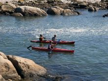 Sea Kayaking in the Western Cape, South Africa.
