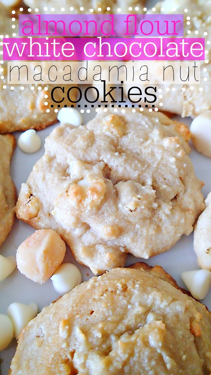 White Chocolate Macadamia Nut Cookies!: White Chocolates, Chocolates ...