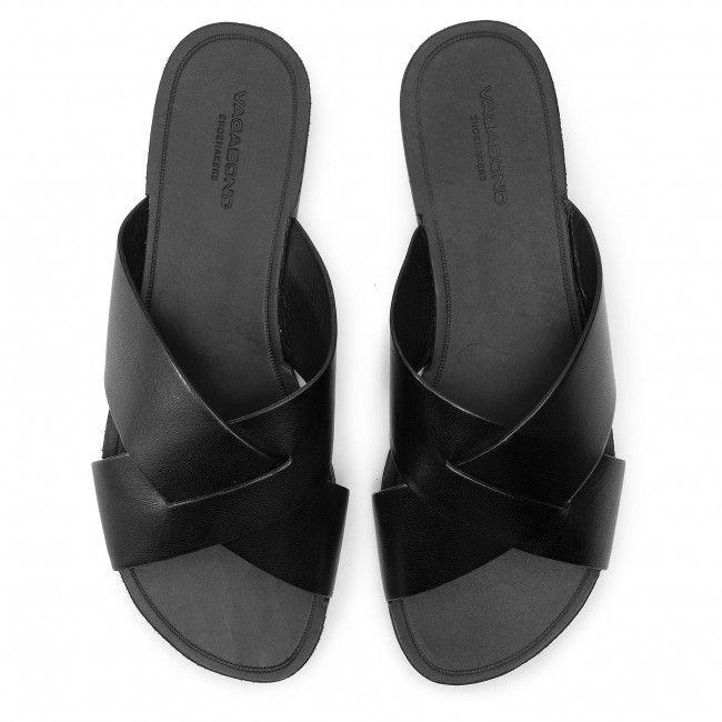 Klapki Vagabond Tia 4731 301 20 Black Klapki Codzienne Klapki Klapki I Sandaly Damskie Www Eobuwie Com Pl Shoes Black Slip On Sandal