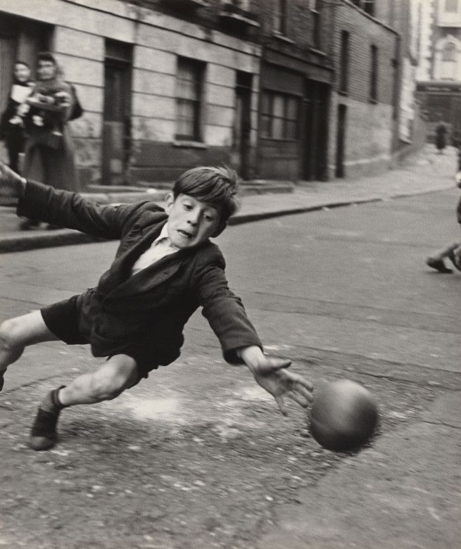 Roger Mayne Goalie, Street Football, Brindley Road 1956 Gelatin print