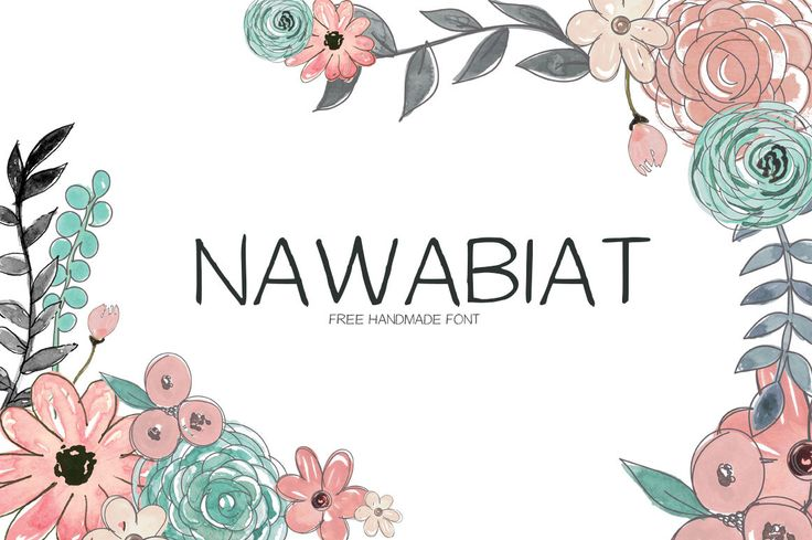 """Check out this @Behance project: """"Nawabiat Free Handwriting Font"""" https://www.behance.net/gallery/36036063/Nawabiat-Free-Handwriting-Font"""