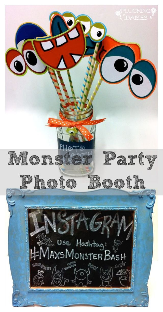 Hey Everyone! Today I have a monstrously fun photo booth tutorial to share with you. It's easy to create these cute Monster Party Photo Booth props for your Halloween party or birthday bash with ...