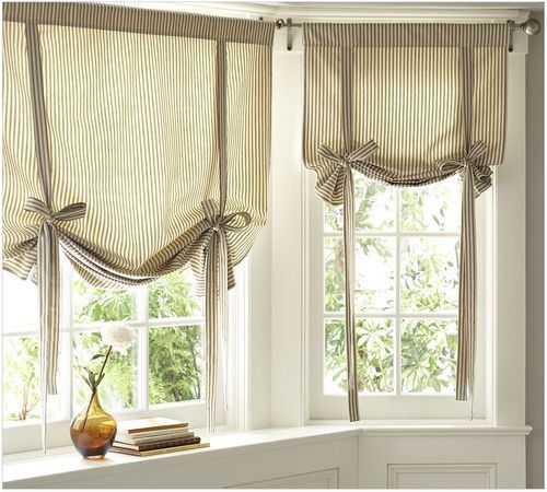 Kitchen Window Curtain Idea: 25+ Best Ideas About Kitchen Curtains On Pinterest