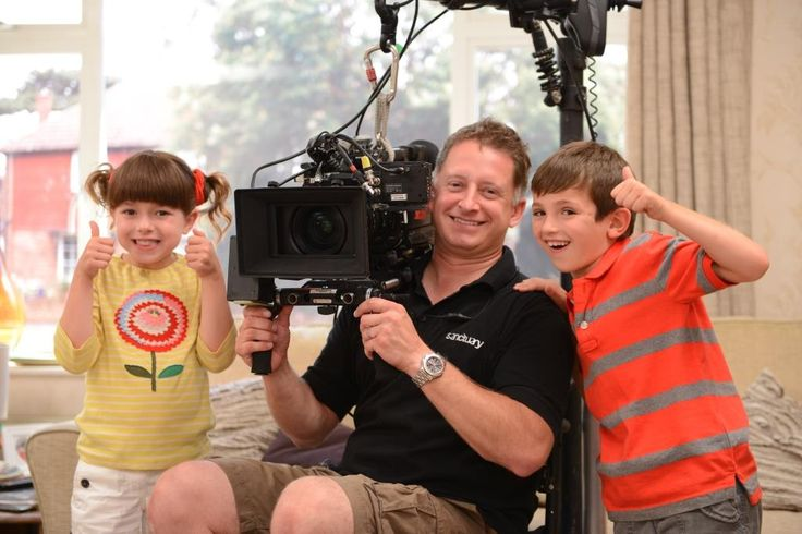 Topsy and Tim on set