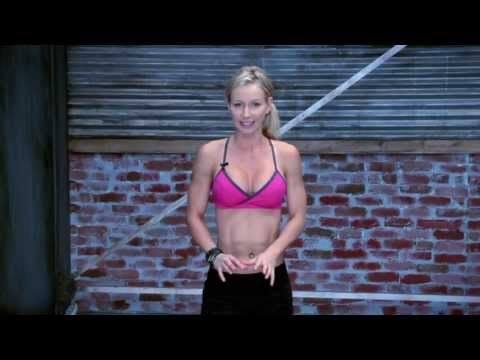 ▶ FitBottomedGirls.com Beginner Workout - YouTube (this really looks like a nice starter workout with plenty of support and motivation!!)