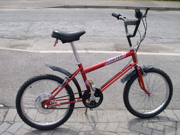 Raleigh Grifter MK1 Red