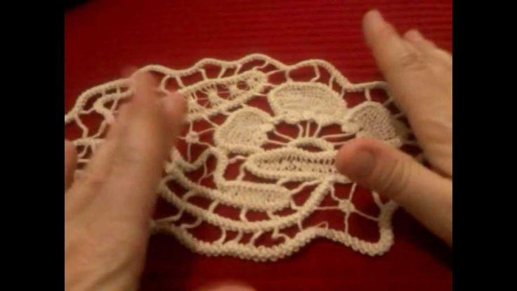 Cordoncino uncinetto macramè rumeno | Romanian point lace cord tutorial