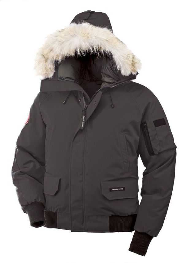 Canada Goose Chilliwack Bomber Graphite Men's Jackets