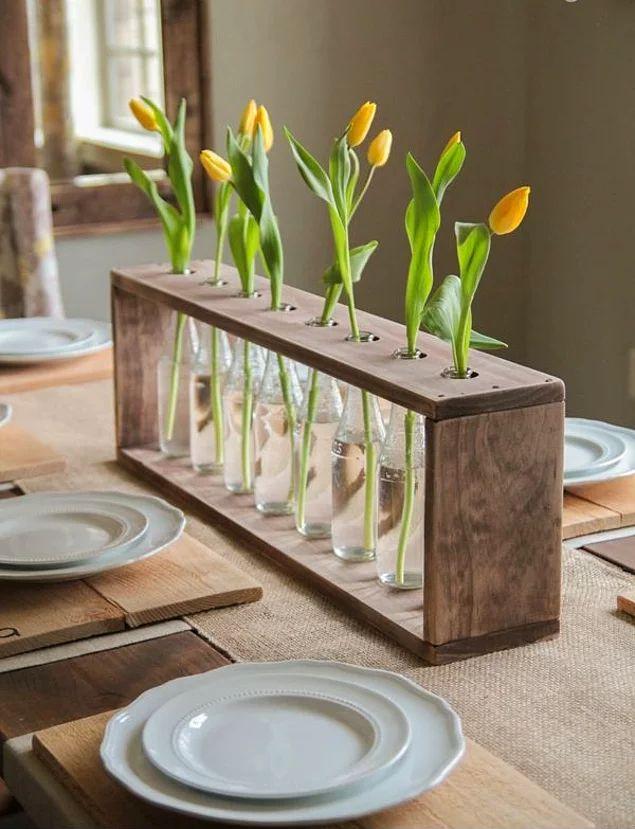 Masa dekorunuza biraz farklılık katmak istemez misiniz?