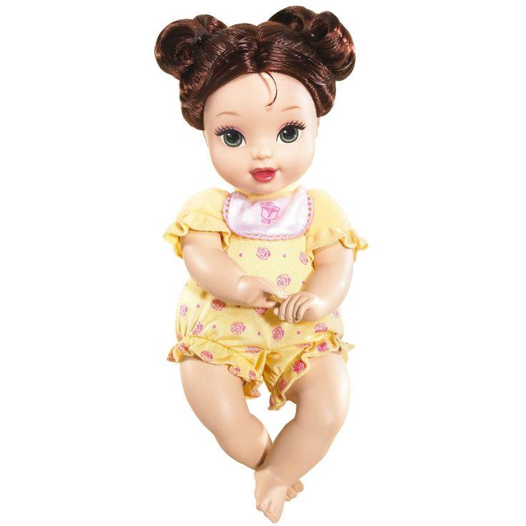 Amazon Com Disney Princess Baby Belle Doll Toys Games