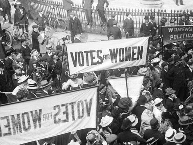 Znalezione obrazy dla zapytania first-wave feminism