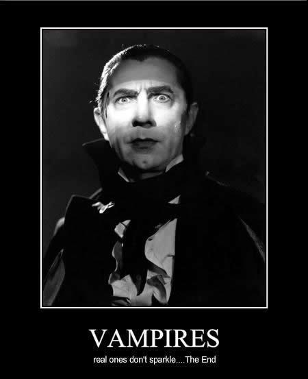 Real Vampires Don't Sparkle
