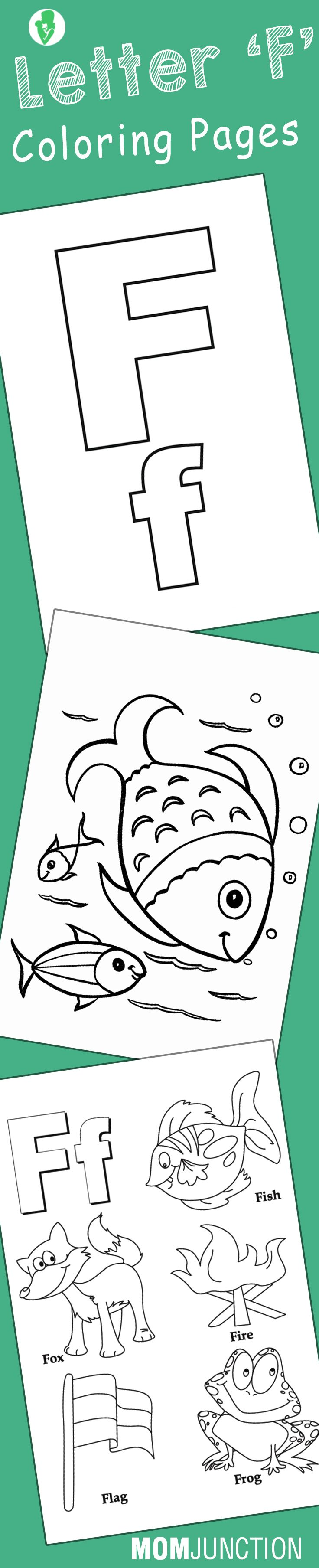 F coloring pages for preschoolers - F Coloring Pages For Preschoolers 43