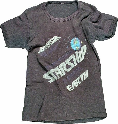 vtg Jefferson Starship t shirt women XL IYNoNJMIL