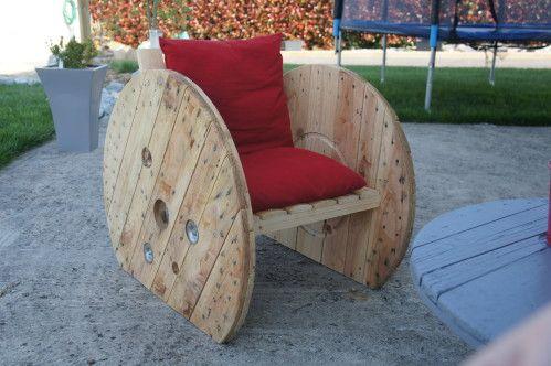 Après la chaise longue, les fauteuils! - PEINTURE SUR TOILES ET AUTRES LOISIRS CREATIFS
