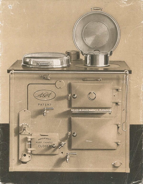 The AGA Cooker Brochure, 1932. They still make these... 15 Grand!