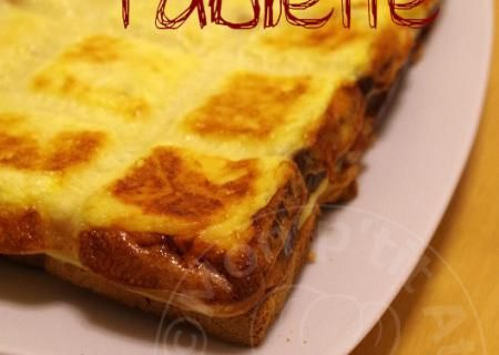 Recette de Croque Tablette | Guy Demarle