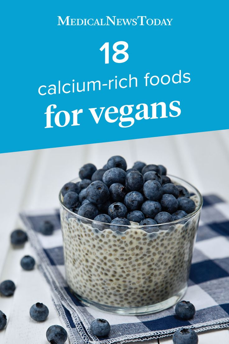 Calciumrich foods for vegans and people who do not