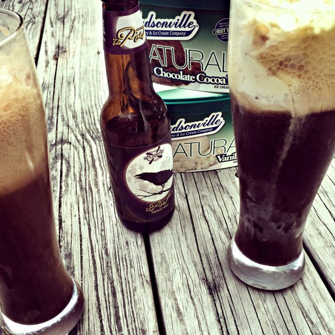 Beer, Ice Cream and Diary Farm Tour, oh my! {and an oatmeal stout ice cream float recipe}