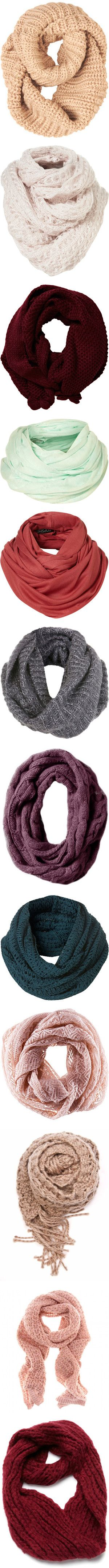 Seriously loving the infinity scarf right now!