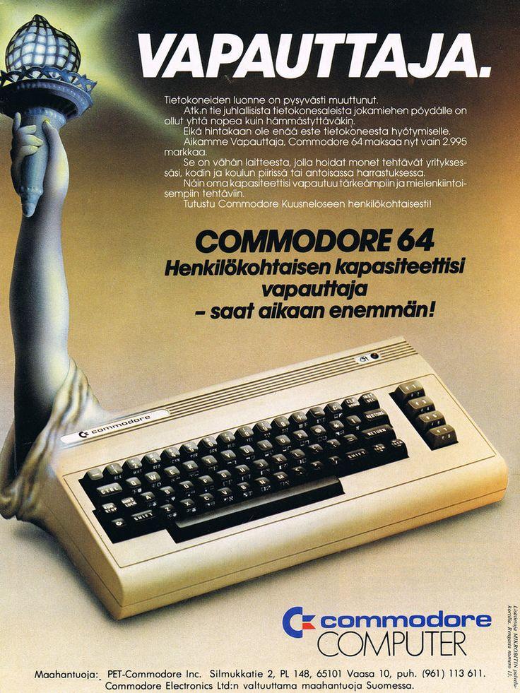 Commodore 64 - 80-luku