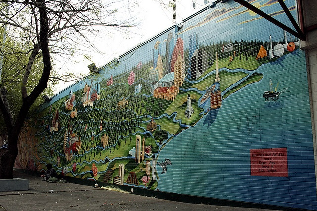 17 best images about austin murals on pinterest on the for Austin mural wall