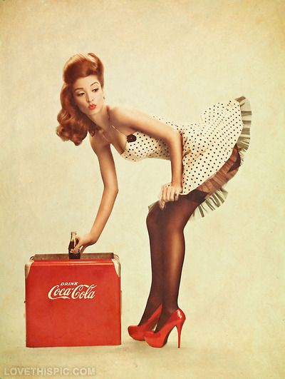 Vintage Coke Cola Pinup Girl Pictures, Photos, and Images for Facebook, Tumblr, Pinterest, and Twitter
