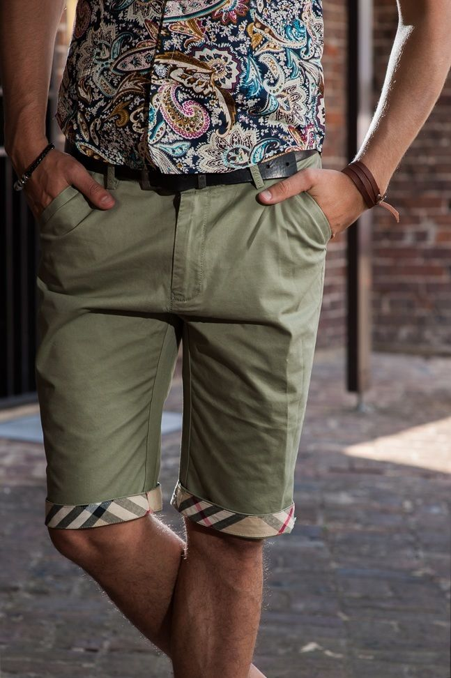 Men's Slim Fit Chino Shorts – Avocado Green. $49.95  http://sieteclothingco.com.au/shop/mens-shorts/