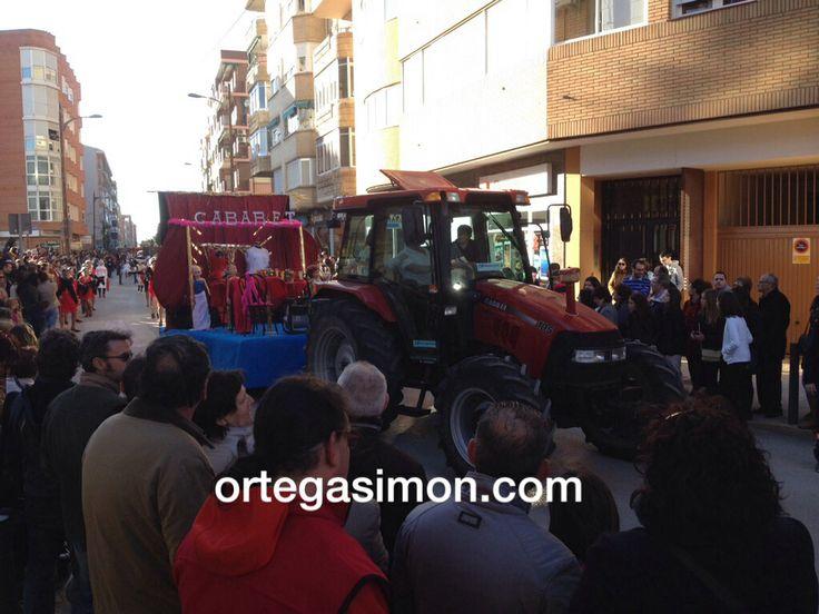 Carnaval 2014 #Tarancón. #ortegasimon #iamcaseih