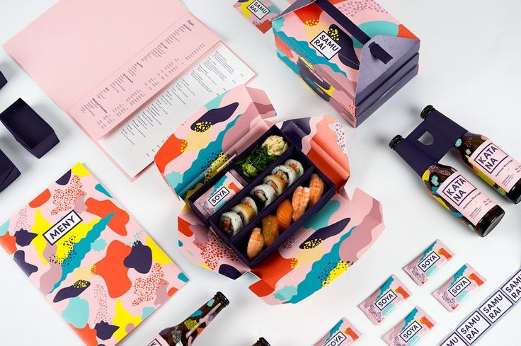 Samurai Japanese Restaurant (Student Project) on Packaging of the World…