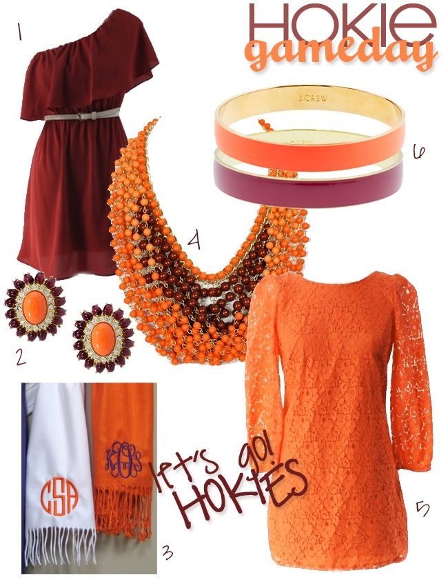 dressy hokie gameday outfit ideas