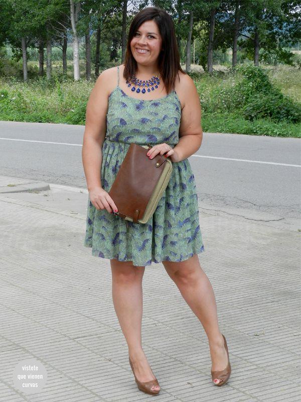 Dress Vestido talla grande plus size curvy curves lavand shoes mujeres reales http://www.vistetequevienencurvas.com/2014/07/lavand-dress-la-talla-46-existe.html